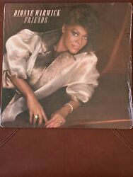 Dionne Warwick - Friends 1985 Us Sealed Vinyl/lp W/ Thatandrsquos What Friends Are For