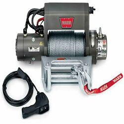 Warn Xd9000i Winch 12 Volt 9000 Lb Cap 125 Ft Wire Rope 27550