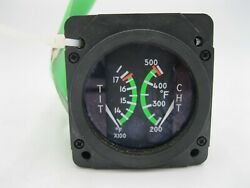 Cessna Dual Tit And Cht Indicator S3318-2