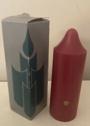 Partylite S2623 Cranberry Scented 2 X 6 Pillar Candle Nib