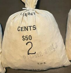 5000 Lincoln Memorial And Wheat Cents 1909 To 1982 Mint Marks Pds 2 0f 3 Lots