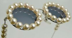 Auth Vintage Pearl Sunglasses Collectors