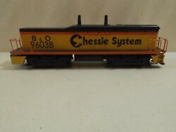 O Mth Baltimore And Ohio Chessie Sw9 9603b Calf Diesel Engine