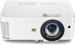 Viewsonic 1080p Short Throw Projector With 3000 Lumens 220001 Dlp Dual Hdmi Us