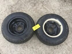 Allis Chalmers 620 720 Simplicity 9020 4041 4040 Rear Wheels With Tires 29x12-15