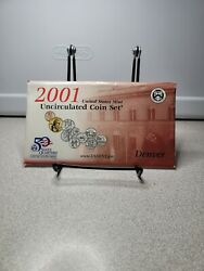 2001 Us Mint Uncirculated 10 Coin Set