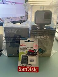 Gopro Hero7 White Kit With Head Strap And 32gb Card - 279 Msrp