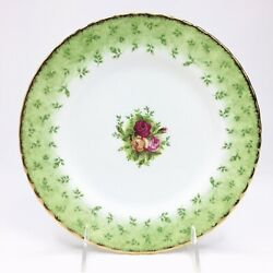 Royal Doulton Royal Albert 1962 Old Country Roses 8.25 In. Salad Plate Gold Trim