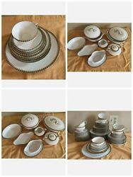 Limoges France China Dinnerware Service Set 8 10 Serving Dish 8 Per Person 76