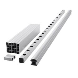 Railing Kit 94 In. X 36 In. Prefinished Top Rail Easy Assembly Composite White