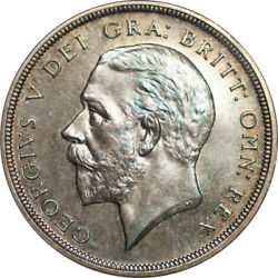 Great Britain 1927 George V Proof Silver Crown Ngc Pf-65 Old Slab Undergraded