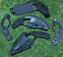 Colonel Blades Nco Low Vz No Vz Fixed Blade With Tactical Trainers Discontinued
