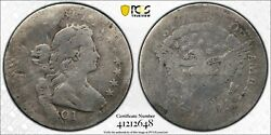 1801 Draped Bust Half Dime H10c Pcgs Ag03 About Good Looks G+ Key Date Certified