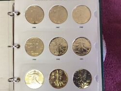 24k Gold Plated 999 Silver Eagles-lot Of 21/1986-2004 And 2 2006