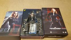 Hot Toys Action Figure Black Widow 1/6 Scale Mms239 Avengers The Winter Soldier