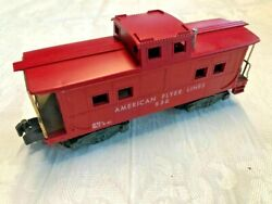 American Flyer By Gilbert 938 American Flyer Lines Caboose Car L@@k