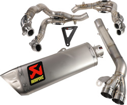 Akrapovic Stainless Steel Collector Evolution Line Exhaust System S-h10e3-aplt