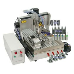 Usa Stock 110v Cnc 6040 Wood Router 2.2kw 4-axis Metal Engraver Milling Machine