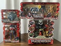 Transformers Revenge Of Fallen 5 Piece Set - New And Sealed