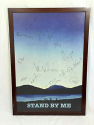 The Big Bang Theory Prop Screen Used Wil Wheaton Apt Stand By Me Signed Poster