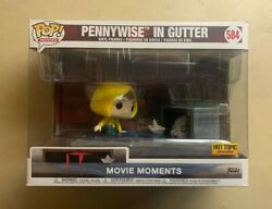 Funko Pop Georgie And Pennywise In Gutter It Movie Moment Hot Topic Exclusive 584
