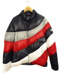 Moncler 20ss Multi Colored Down Jacket Coat Outer Nylon Zip-up Argentiere
