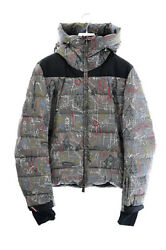 Moncler 18aw Camurac Giubbotto Graphic Total Pattern Down Jacket D20974181385