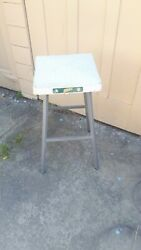 Authentic Aand039s Baseball Team Stool W/ Official Home Game Base As A Seat Mlb