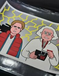Jun Oson- Back To The Future Print - Edition Of 50