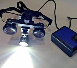 3.5x Eye Loop With Led Light Opthalmic, General Examination With Lens Adjustmen