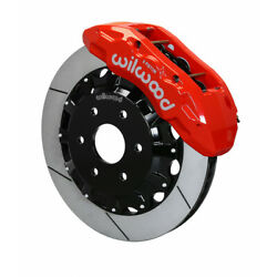 Wilwood For Gm Truck/suv 1500 1999-2014 Tx6r Brake Kit - Front 16.00in Red