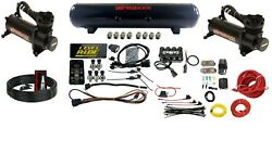 Level Ride Pressure Only And Airmaxxx Black 480 Air Management Kit Complete W/tank