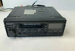Vintage Sony Xr-7000 Am/fm Cassette Car Stereo Radio Untested