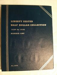 Liberty Seated Half Dollar Collection 1839 To 1850 Number One, Whitman 9035