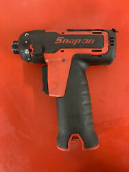 Snap On 14.4 V 1/4 Hex Microlithium Cordless Screwdriver Cts761a Tool Only