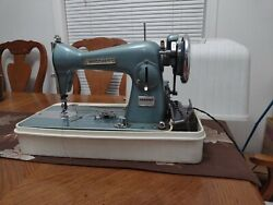 Brother Vintage Charger 041 Precision Sewing Machine Blue Color