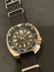 Seiko 6105-8110 Vintage Overhaul 2nd Diver Automatic Mens Watch Auth Works
