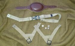 Reproduction Us M1 Helmet Paratrooper A Yokes Leather Chincup Chinstrap