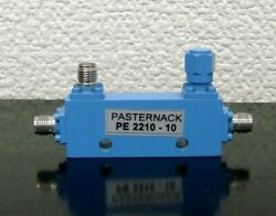Normal Working Works Pasternack Pe2210-10 Directional 10 Db Sma Coupler X-16