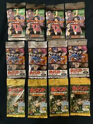 12 Pokemon Booster Packs 4 Japanese Team Rocket Jungle And Gym Challenge 2