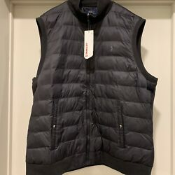 Polo Primaloft Quilted Insulated Pony Logo Vest Black Menandrsquos Xxl Nwt