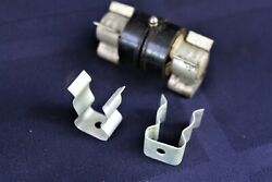 Nos Pre-war Tether Race Car Smith Ignition Coil Mounts Very Nice See Pictures