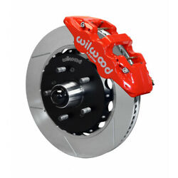 Wilwood For Ford F150 1997-2003 Truck Brake Kit Aero6 Front - 14.25in Red
