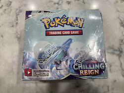 Pokemon Chilling Reign Booster Box With 36 Sealed Packs And Free Usps Shipping