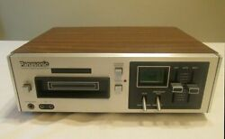 Vintage Panasonic Rs-805us 8 Track Stereo Tape Deck Player Recorder