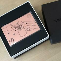 25th Anniversary Limited Starbucks Card Made Of Stainless Steel