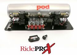 Ridetech 5 Gallon Bigred Airpod With Ridepro-x Control System 30514700