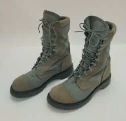 Corcoran Usaf Women's Size 7m Hot Weather Boots 87257 Marauder Military Sage