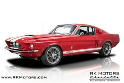 1967 Ford Mustang Gt500 1967 Ford Mustang Gt500 Candy Apple Red Coupe 527 Ci Boss 9 5 Speed Manual