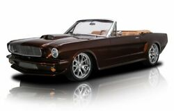 1966 Ford Mustang 1966 Ford Mustang Root Beer Convertible 5.0 Liter Coyote V8 6 Speed Manual